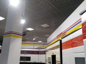 Электрика в торговом павильоне
